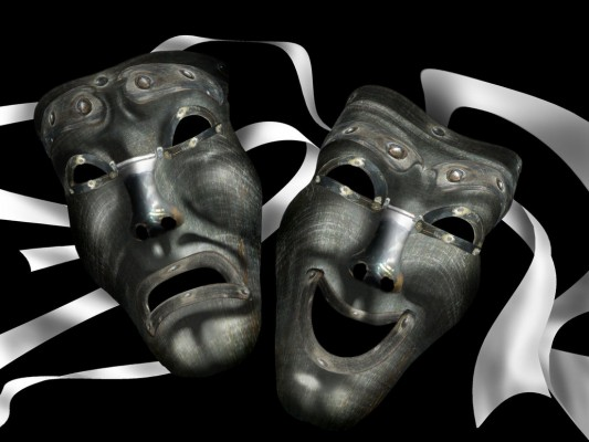 theater_masks_by_baczo